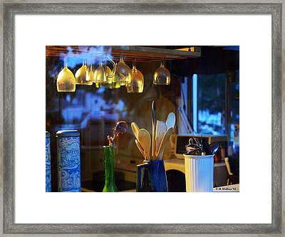 Window To My Kitchen Framed Print