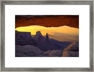 Window To Mystery  Framed Print