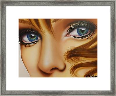 Window To The Soul Framed Print by Darren Robinson
