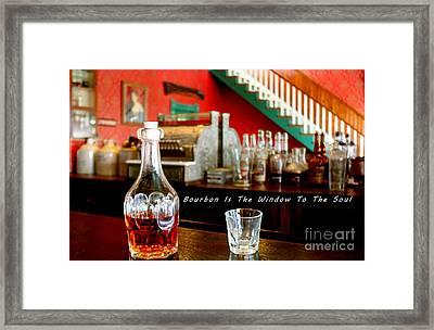 Window To The Soul Framed Print by Janice Rae Pariza
