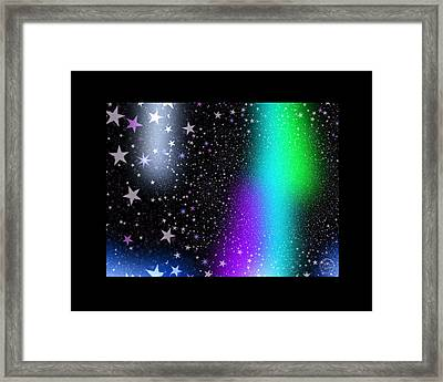 Window To The Stars Framed Print