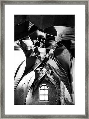 Window View Framed Print by John Rizzuto