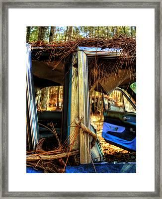 Window Vine Framed Print by Greg Mimbs