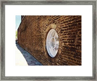 Window Wall Framed Print by Nicky Jameson
