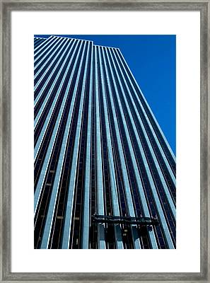 Window Washers View Framed Print