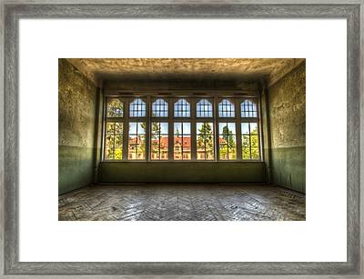 Window With Beauty Framed Print by Nathan Wright