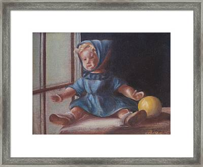 Window World Framed Print by Ruthe Dawes