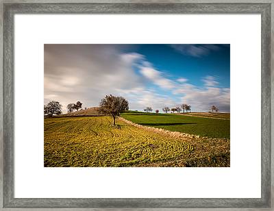 Windows 9 Default Background Image Framed Print by Okan YILMAZ
