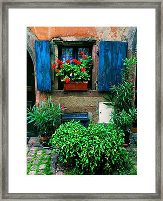 Windows And Doors 2 Framed Print