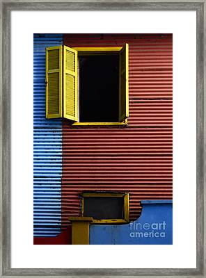 Windows And Doors Buenos Aires 16 Framed Print