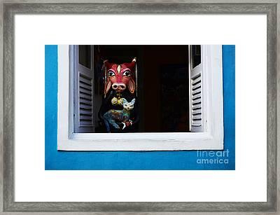 Windows And Doors Olinda Brazil Framed Print