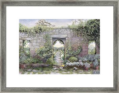 Windows Framed Print by Ariel Luke