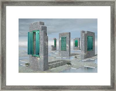 Windows Framed Print by Ben Kotyuk