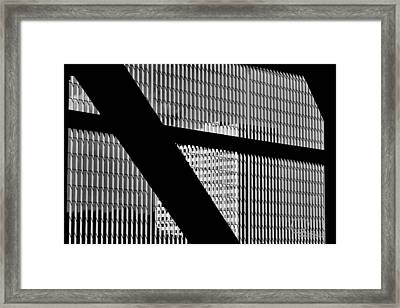 Framed Print featuring the photograph Windows by Ludwig Keck