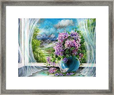 Windows Of My World Framed Print by Patrice Torrillo