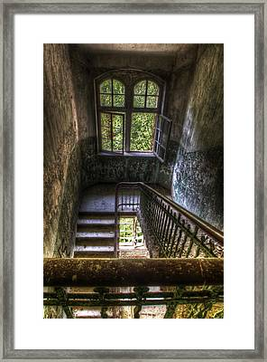 Windows Of Old Framed Print by Nathan Wright