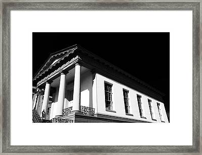 Windows Of The Confederacy Framed Print by John Rizzuto