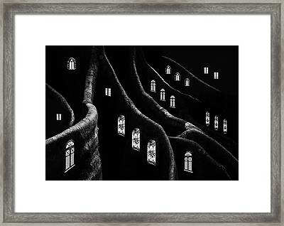 Windows Of The Forest Framed Print