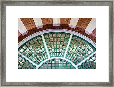 Windows Of Ybor Framed Print