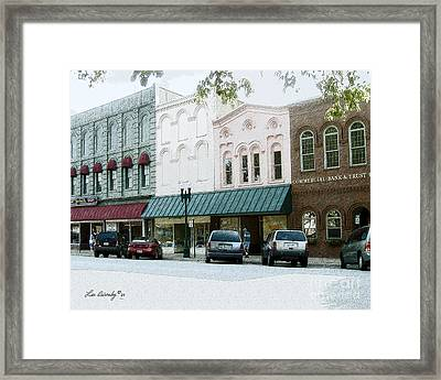 Windows On The Square Framed Print