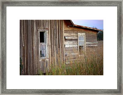 Framed Print featuring the photograph Windows On The World by Gordon Elwell