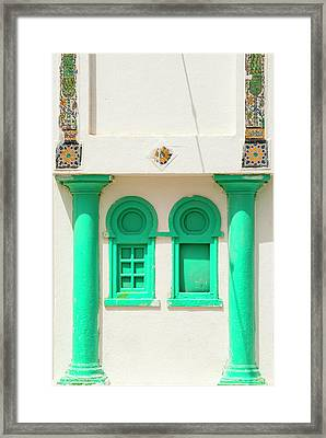 Windows, Tabarka, Tunisia, North Africa Framed Print by Nico Tondini
