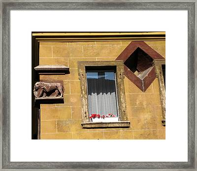 Windows To Budapest Framed Print