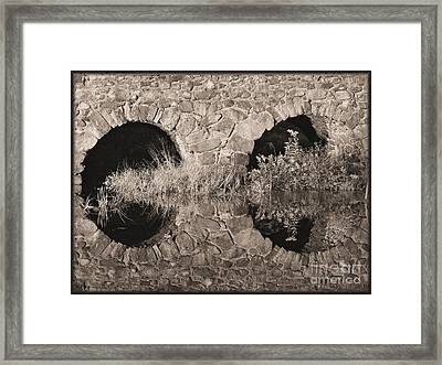 Windows To The Past Framed Print