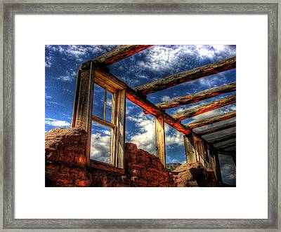 Windows To The Past Framed Print by Timothy Bischoff