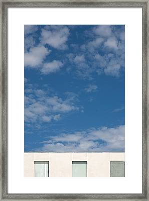 Windows To The Sky Framed Print by Peter Tellone