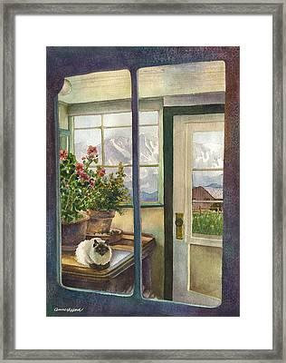 Windows To The World Framed Print