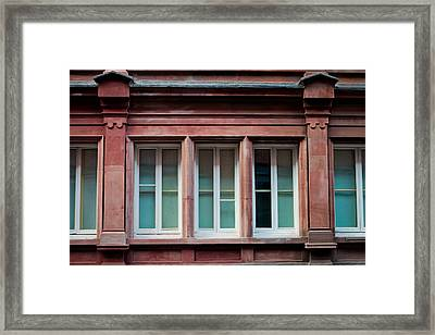 Windows Framed Print by Tom Gowanlock