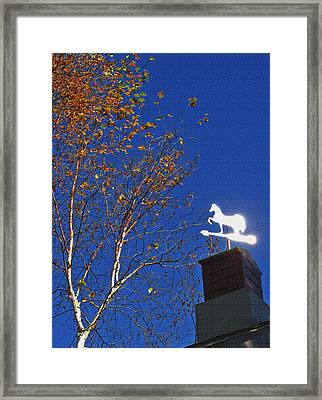Winds Of Change Framed Print by Dave Ruch