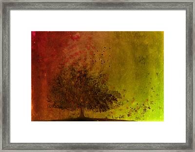 Winds Of Change Framed Print by Hazel Billingsley