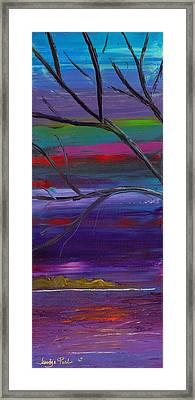 Winds Of Change Left Framed Print by Jessilyn Park
