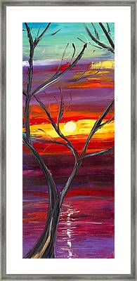 Winds Of Change Middle Framed Print by Jessilyn Park