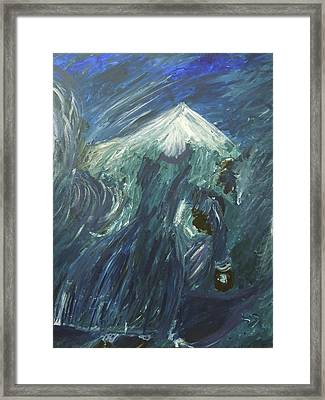 Winds Of Love Framed Print