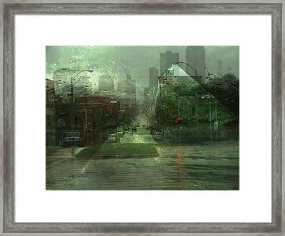 Windshield Framed Print