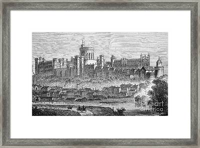 Windsor Castle, 1880s Framed Print