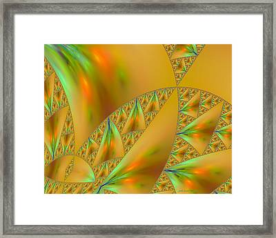 Windsurfing Framed Print