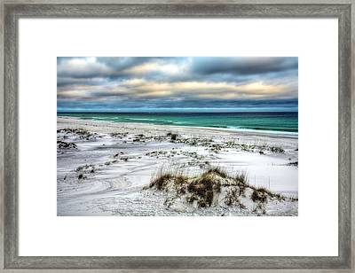 Windswept On Okaloosa Island Framed Print by JC Findley