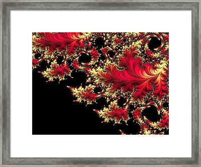 Framed Print featuring the digital art Windswept by Susan Maxwell Schmidt