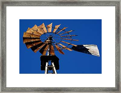 Windvane Framed Print by Brooks Byrd