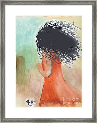 Windy Beginnings Framed Print