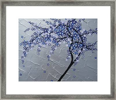 Windy Framed Print by Cathy Jacobs