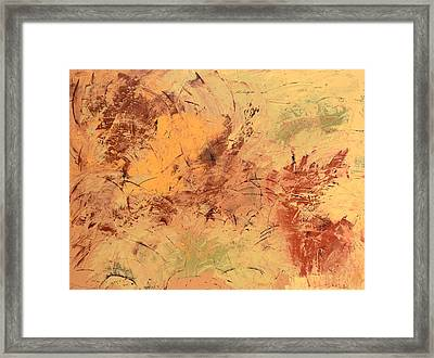 Framed Print featuring the painting Windy Day by Linda Bailey