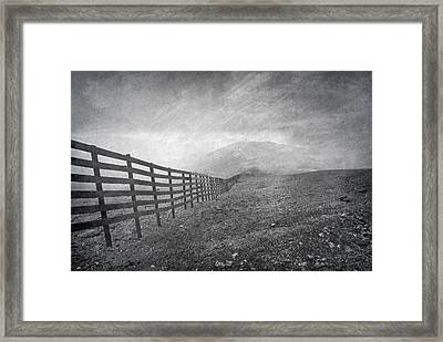 Windy Days At 3300 Meters Framed Print by Guido Montanes Castillo