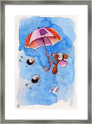Windy Days Framed Print by Lucia Stewart