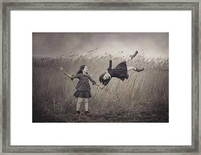 Windy Fairy Tales Framed Print