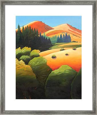 Windy Hill Trip. Revisit Panel One Framed Print